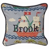 Ahoy! Throw Pillow - Square