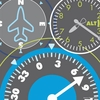 Airplane Gauges Canvas Wall Art