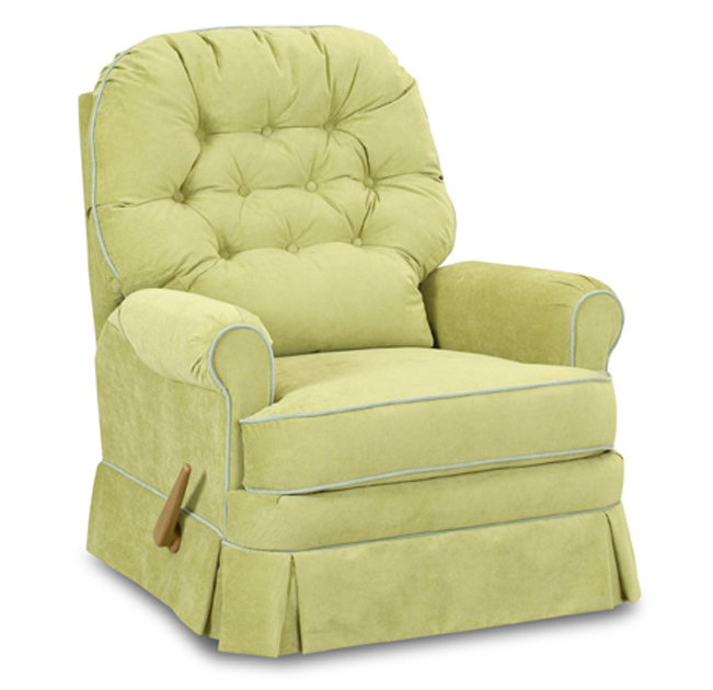 Albany Swivel Gliding Recliner Chair By Nursery Classics