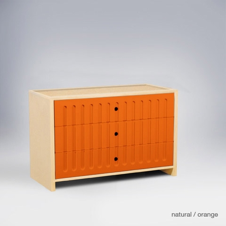 Alex 3-Drawer Dresser
