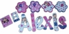 Alexis Monkey Hand Painted Wall Letters