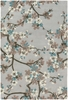 Alfred Shaheen Floral Rug