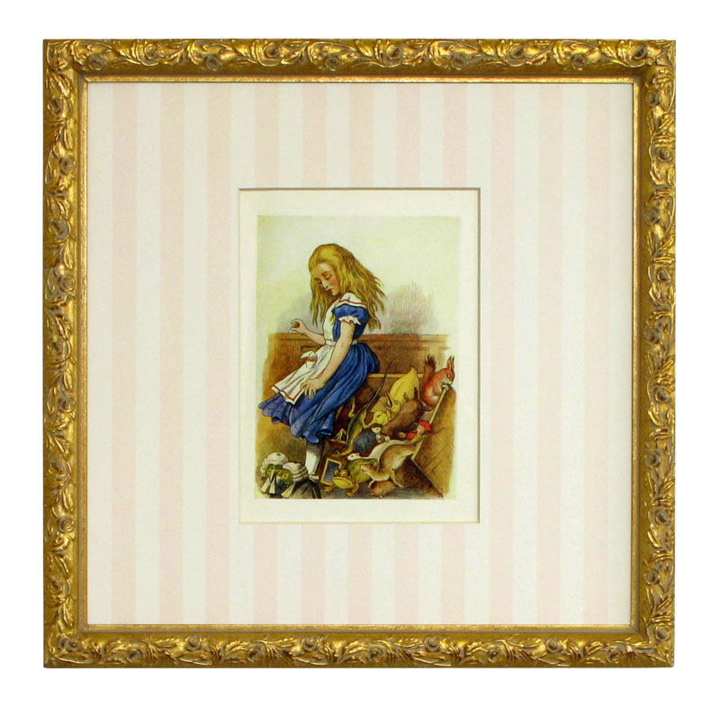 Alice In Wonderland I Framed Art Print By Art For Kids