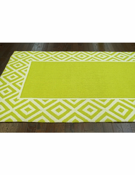 Alice Rug in Green