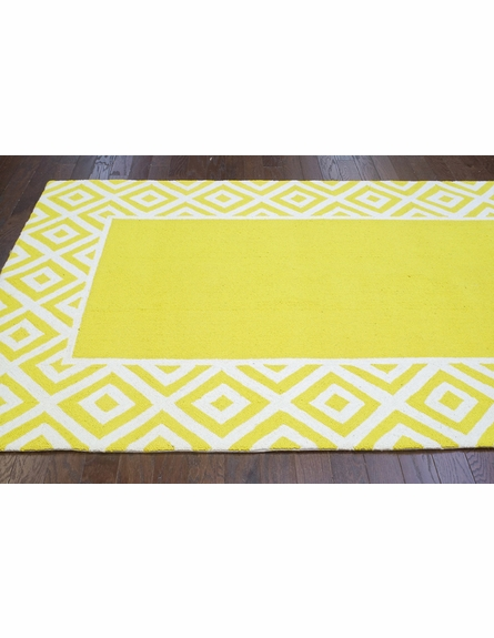 Alice Rug in Lemon