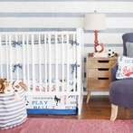 All Star Crib Bedding Set