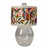 Allen Clark Glass Lamp in Bright Colors
