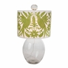 Allen Clark Glass Lamp in Green