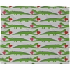 Alligator Love Fleece Throw Blanket
