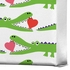 Alligator Love Wrapped Canvas Art