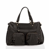 Allure Convertible Satchel in Black