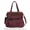 Allure Tote Diaper Bag in Plum