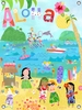 Aloha Girls Canvas Wall Mural