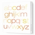 Alphabet Canvas Wall Art