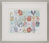 Alphabet Critters Framed Art