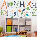 Alphabet Kids Wall Art