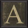 Alphabet Letter A Framed Wall Art