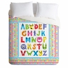 Alphabet Monsters Duvet Cover