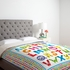 Alphabet Monsters Luxe Duvet Cover