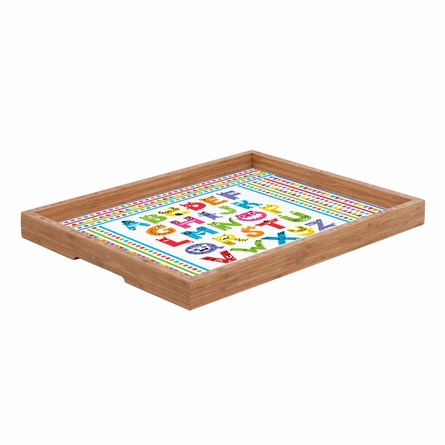 Alphabet Monsters Rectangle Tray