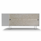 Alto Credenza with Bamboo Rings Panels