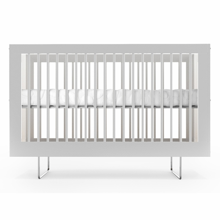 Alto Crib with Red Strands Panels