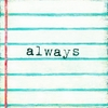 Always Small Vintage Art Print on Wood