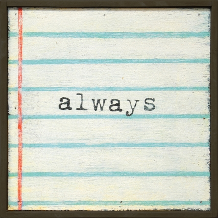 Always Vintage Framed Little Art Print