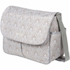 Amber Tote Diaper Bag in Blue Filigree