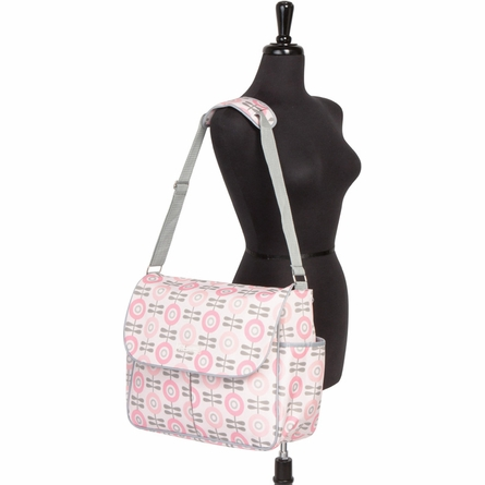 Amber Tote Diaper Bag in Modern Floral