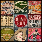 America's Favorite Pastime Canvas Wall Art