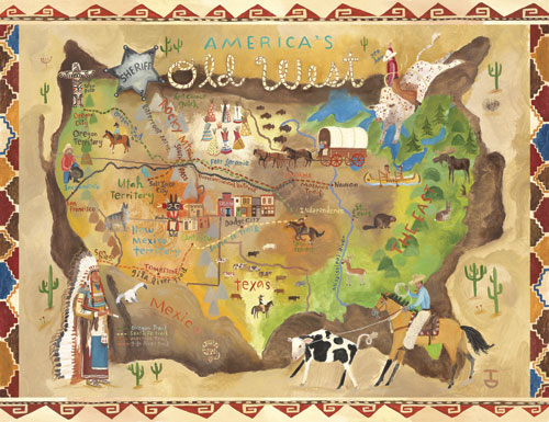 America S Old West Canvas Wall Art By Oopsy Daisy