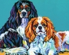 American Cocker Spaniel Dogs Wall Art