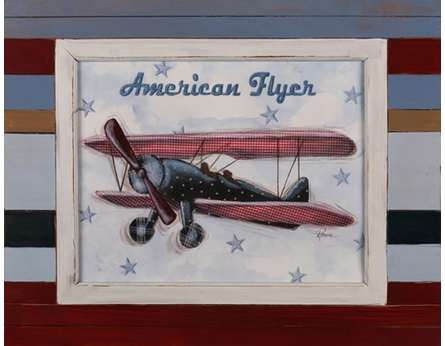 American Flyer Weathered Frame Art