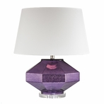 Amethyst Jewel Table Lamp