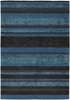 Amigo Striped Rug in Blue