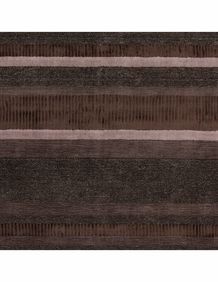 Amigo Striped Rug in Brown