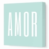 Amor Canvas Wall Art