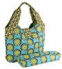 Amy Butler Tulip Diaper Bag in Buttercups Turquoise