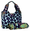 Amy Butler Tulip Diaper Bag in Poppy Flower Blue