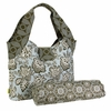 Amy Butler Tulip Diaper Bag in Tropicali Shale Gray