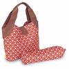 Amy Butler Wildflower Diaper Bag in Fountains Tangerine