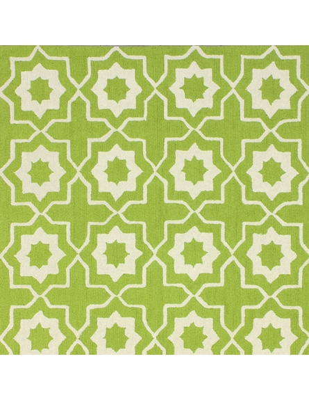 Amy Rug in Green