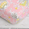 Amy's Garden Damask Crib Sheet