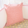 Amy's Garden Dot Square Throw Pillow