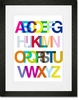 An Alphabetic Ode to Helvetica Framed Art Print