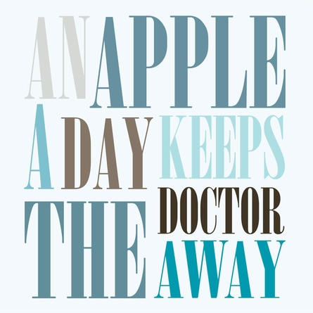 An Apple A Day Art Print
