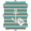 Anchor 1 Quatrefoil Magnet Board