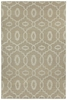 Anchor Lattice Rug in Stone