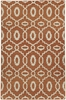 Anchor Lattice Rug in Sunny